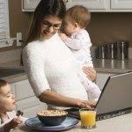 Conheça dicas para conciliar o papel de mãe e empresária.