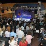 Números mostram público entusiasmado no primeiro dia da Feira do Empreendedor em Dourados.