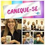 """""""Caneque-se"""": Ação do Sebrae/MS promove troca de copos descartáveis por canecas"""