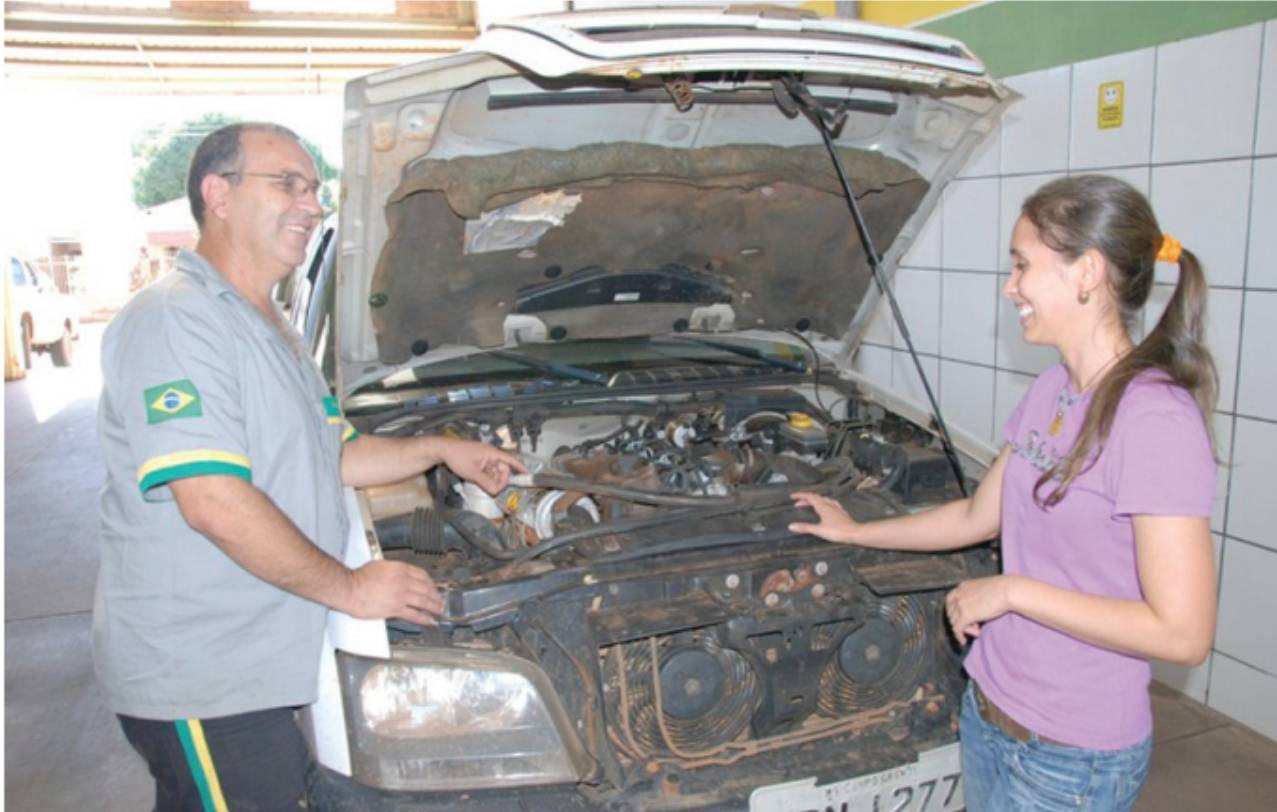 mecânica mulher - Sebrae