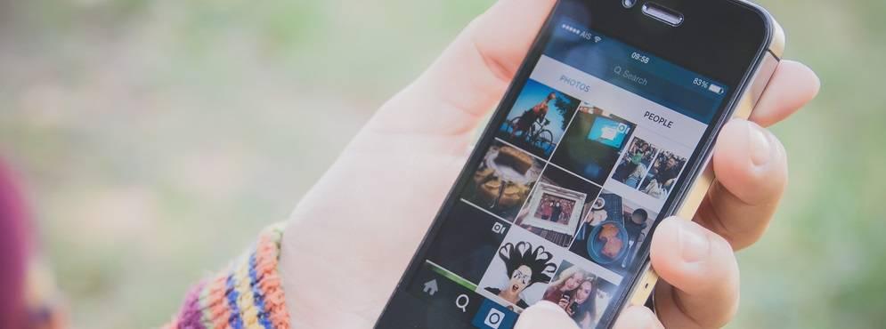 Instagram como painel de venda