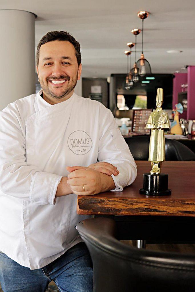 O chef de cozinha André Nardo